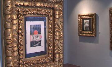 Una trentena d'obres inèdites de Modest Cuixart ocupen la Canals Galeria d'Art fins al maig