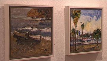 El mar i l'aigua protagonistes de la nova exposició de la sala Rusiñol