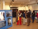 La inauguració de la mostra ha comptat amb un nombrós públic