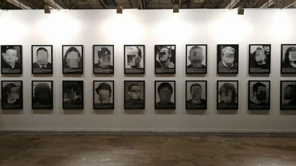 L'exposició censurada dels presos polítics a la fira d'Arco arriba a La Floresta