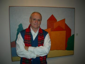 Ramon Herreros explora la força del color i la senzillesa de les formes geomètriques a 'Arquitectures'