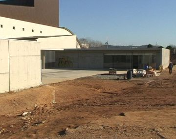 L'ampliació de l'escola de música s'enllestirà a l'abril