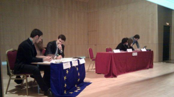 El Parlament Europeu de Joves posa a prova alumnes santcugatencs