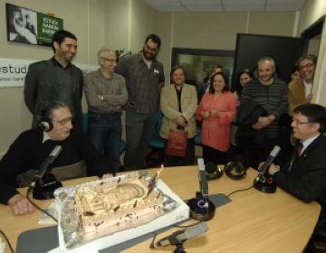 Joan Fàbregas, homenatjat a Cugat.cat pel seu 85è aniversari