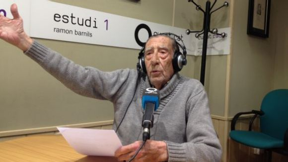 En 'Fabri', en una de les seves intervencions al 'Sant Cugat a fons'
