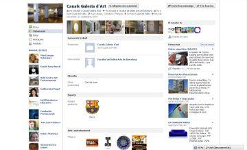 La Canals Galeria d'Art, present a les xarxes socials