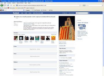 Un grup al Facebook promou la consulta per la independència a la ciutat