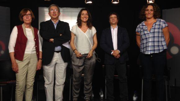 Els partits dibuixen el Sant Cugat dels propers quatre anys al debat de Cugat.cat