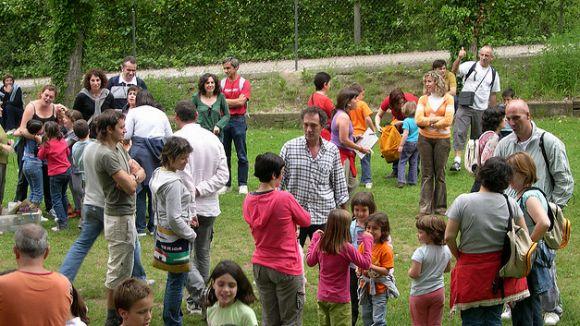 Les famílies es comuniquen sobretot en català segons l'estudi / Font: Xarxanet.org