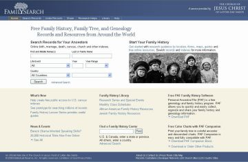 Una web dels mormons permet als santcugatencs conèixer els seus avantpassats