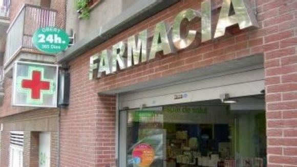 La farmàcia Díaz Puerto pateix un doble robatori en menys d'una hora