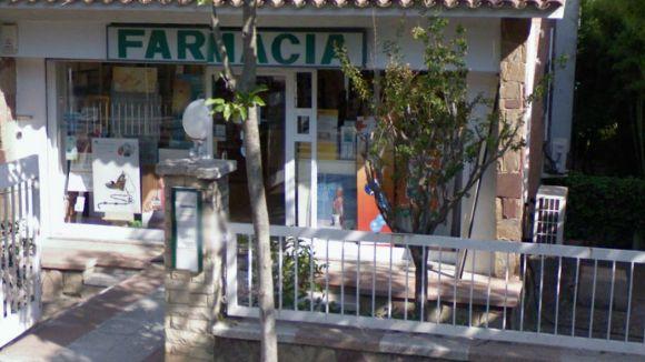 Una mateixa persona, autora del robatori a tres farmàcies locals