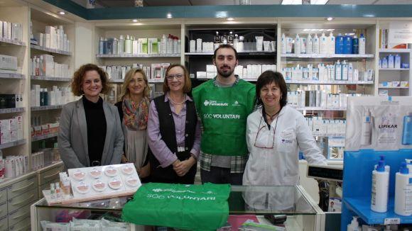La presentació de la jornada s'ha fet a la farmàcia Riera-Riviere