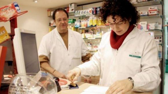 Les farmàcies reclamaran el pagament d'interessos de demora al CatSalut