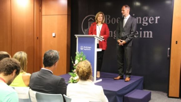 Báñez agraeix a Boehringer la seva contribució en el creixement de l'economia