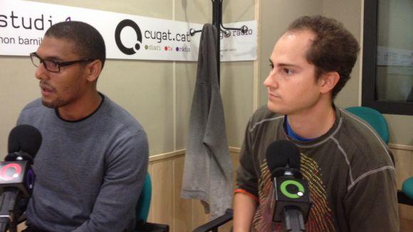 Carlos A. Felipe i Xavi Fermoso, gerents de Dinamiks, al SAF