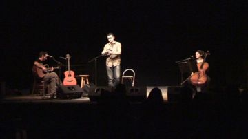 L'activisme musical de Feliu Ventura trepitja fort a Valldoreix, amb la seva actuació