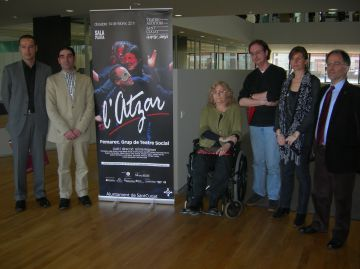 Femarec porta l'obra 'L'atzar' al Teatre-Auditori aquest dissabte