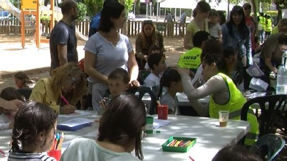La jornada Fem barri! reivindica el potencial de la zona del Monestir-Sant Francesc