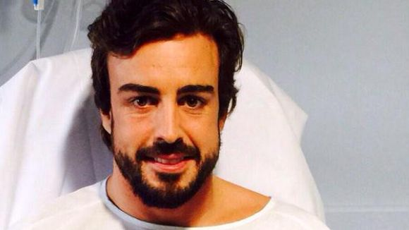 El vent, causa de l'accident de Fernando Alonso