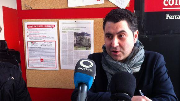 Ferran Villaseñor no deixarà, de moment, el PSC