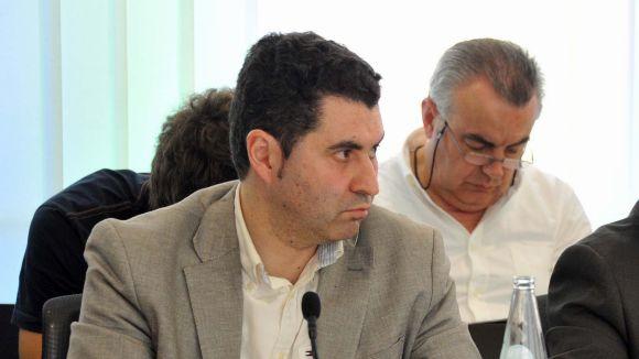 F. Villaseñor (PSC): 'S'acosta la fi de mandat i el govern fa propaganda absoluta'