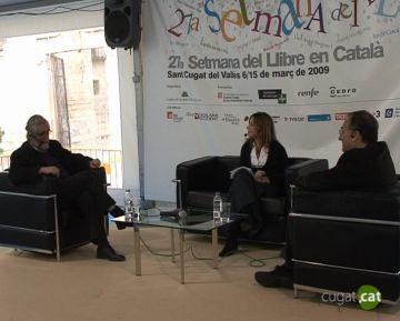 Villatoro (CiU) i Ferran (PSC) debaten sobre la 'crosta nacionalista' en un acte de la Setmana