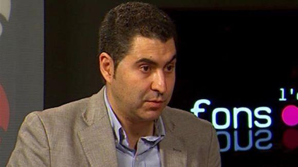 Ferran Villaseñor, a l'àrea d'Economia de l'Ajuntament de Rubí