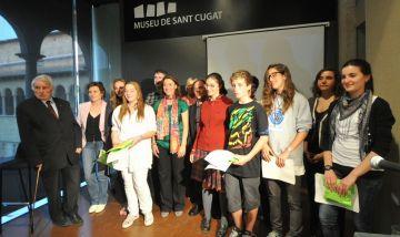 Lluís Bassa, Clàudia Custodio i Anna Grau, guanyadors del Ferrater de secundària