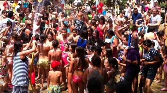La Festa de l'aigua, necessària per passar la calor