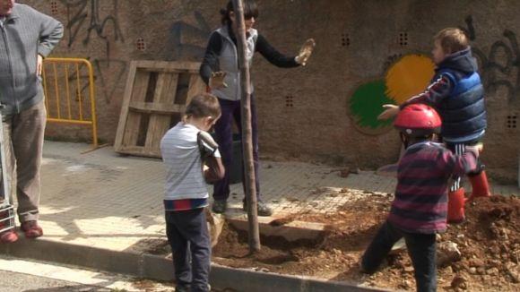 Valldoreix ha celebrat la Festa de l'Arbre després de 50 anys