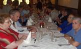 El dinar va aplegar centenars de membres del Col·lectiu de la Gent Gran de Mira-sol