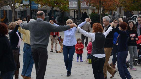 L'Entitat Sardanista organitza aquest diumenge una ballada de sardanes a la plaça d'Octavià