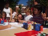Els nens han pogut participar en multitud de tallers.