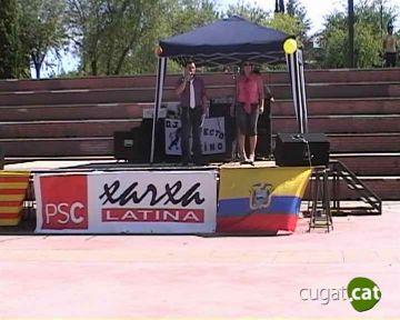 Unes 300 persones assisteixen a la 1a Festa de la Integració Llatinoamericana