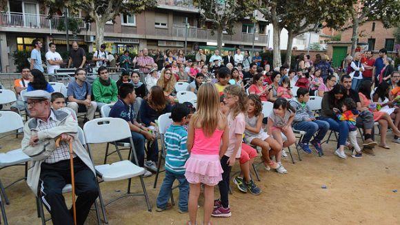 La festa major del barri Monestir-Sant Francesc en una de les seves pasades edicions / Foto: Localpres