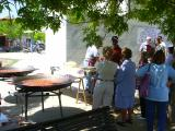 Diversos veïns participen a les activitas de la Festa Major
