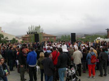 L'agrupament escolta Berenguer el Gran celebra Sant Jordi aplegant entitats del municipi