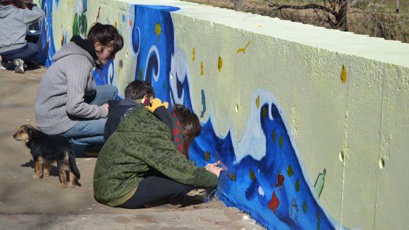 La campanya Som Aigua fa parada a la ciutat per conscienciar els santcugatencs