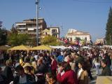 Fins a 15.000 persones s'han acostat a la Plaça d'Octavià