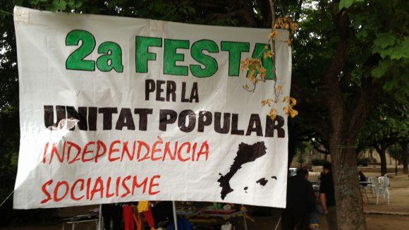 La Festa per la Unitat Popular reivindica l'espai públic per a la ciutadania