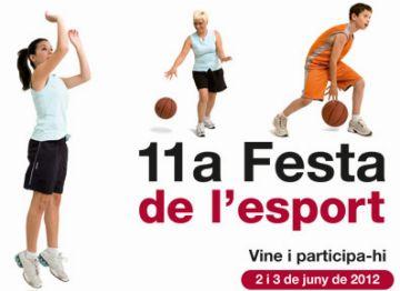 Imatge del cartell de la Festa de l'Esport