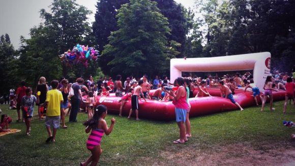 Festa de l'Aigua: petits i grans, xops de diversió