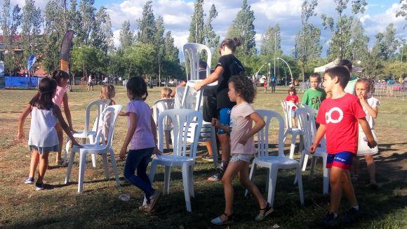 Una de les activitats ha estat el joc de les cadires