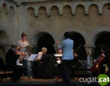 Els cors de Sant Cugat i Aglepta, protagonistes en el concert del Festival de Música de Cambra