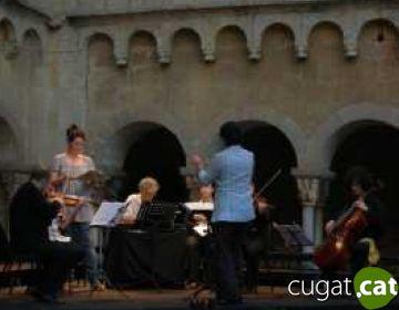El segon concert del Festival de Música de Cambra omple de nou el Claustre amb les peculiaritats de la corda