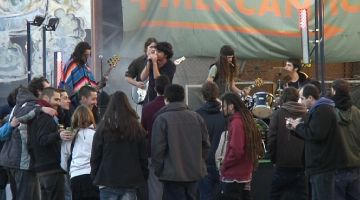 Més d'un centenar de santcugatencs s'apleguen a la 1a edició de l'Hambre Festival