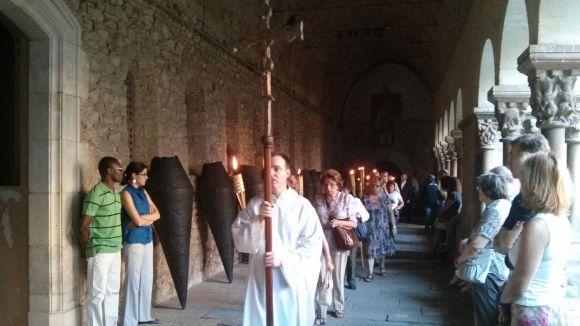 La ciutat rememora el martiri de Sant Cugat