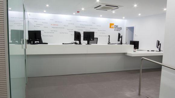 FGC trasllada el Centre d'Atenció al Client de l'estació de plaça Catalunya