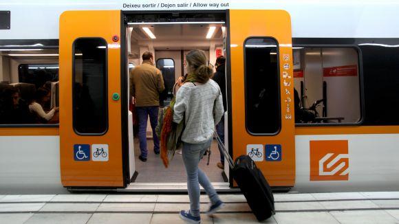 FGC redueix la freqüència de pas de trens durant la Setmana Santa